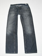 "Blue Denim TOMMY HILFIGER Wilson Straight Leg Faded Men's Jeans Size W34"" L31"""