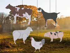 Skyflight Barnyard Farm Animals Hanging Baby Classroom Mobile Sheep Cow Pig