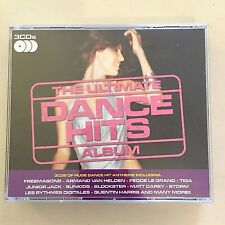 The Ultimate Dance Hits Album 3x CD Set Various Artists 2008 Excellent Condition