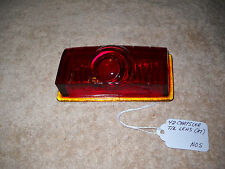 NOS Mopar 1942 Chrysler Tail Light Lens