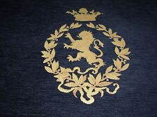 """~""""ROYAL CREST""""CHENILLE UPHOLSTERY FABRIC PILLOW PANEL27X26 INCH~FABRIC FOR LESS~"""