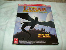 LUNAR SILVER STAR STORY COMPLETE STRATEGY GUIDE BY PRIMA