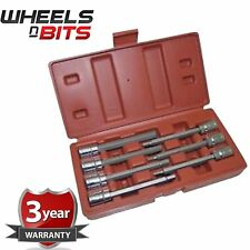 "Pro WNB  7PC 3/8"" Drive Long Hex Allen Key Bit Socket Set 3mm-10mm High Quality"