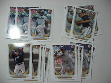 2014 BOWMAN DRAFT lot 6 DUSTIN DEMUTH Milwaukee Brewers DP125