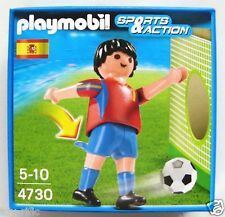 PLAYMOBIL SPORTS & ACTION 4730 - SPAIN SPANISH FOOTBALL PLAYER BRAND NEW BOXED!