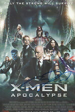 JAMES MCAVOY Signed 12x8 Photo X-MEN APOCALYPSE Charles Xavier COA