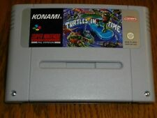 Turtles IV 4 Turtles in Time für Super Nintendo SNES