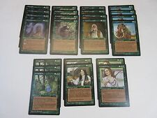 Lot of 23 Green Magic the Gathering Rare Cards Homelands 1995 WotC MTG NM/SP