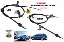 FOR HYUNDAI i20 1.1 1.2 1.4 TD 2009- NEW LEFT+ RIGHT SIDE 2 X HAND BRAKE CABLE