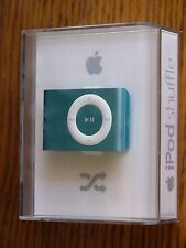NEW Factory Sealed Apple iPod shuffle 2 GB Light Blue 2nd Generation MB520LL/A