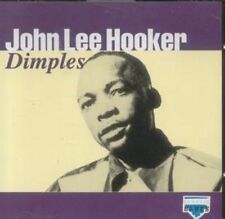 2 CDs    John Lee Hooker Dimples  082333217621 and The Best of John Lee Hooker