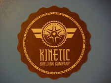 Beer Coaster Mat ~ KINETIC Brewing Company ~ Lancaster, CALIFORNIA Micro Brewery
