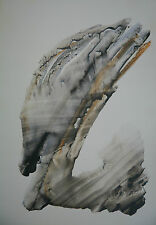 """PEGASSE""  Aquarelle  : Jo RAFFIN - 1955 dim 400*600mm"