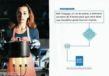 PUBLICITE ADVERTISING 116  1994   EDF éléctricité de France (2p)  en cas de pann