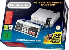 New Nintendo Classic Mini Entertainment system Console NES w 30 game Mario Zelda