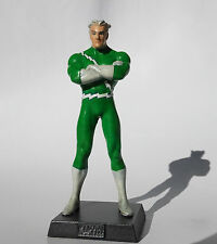 Figura Custom Marvel Eaglemoss - Quicksilver /Mercurio Edición Verde / Green