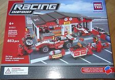 Pit Stop BricTek Construction Building Block Toy Brick Bric Tek 21511 Racing