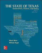The State of Texas : Government, Politics, and Policy by William Ruger Book