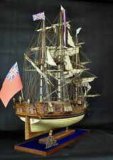 ROYAL CAROLINE with masting wood ship model kit 1:30 Scale