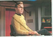 "STAR TREK-CAPTAIN JAMES T. KIRK IN CAPTAIN'S CHAIR-4""X6""-(SK-191*)"