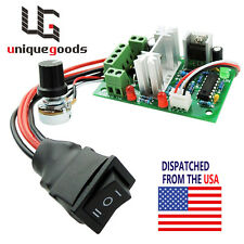 DC 10-30V  Motor Speed Controller Reversible Switch PWM Adjustable Regulator 80W