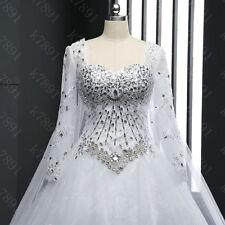 Brauch Brautkleid Abendkleid Brautjungfer Kleider 32 34 36 38 40 42 44 46 48++