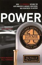 POWER: How J.D. Power III Became the Auto Industry's Adviser, Confesso-ExLibrary