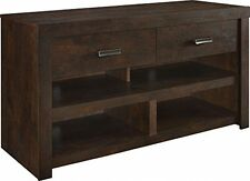 TV Stands For Flat Screens Rustic Credenza Stand With Storage Drawers Shelves