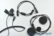 Motorcycle Helmet Headset Earpiece For Ham Radio for Kenwood Puxing Wouxun Radio