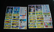 1986 Provigo Montreal Expos Baseball Card Set in Unperforated Panel Form-NM/MT