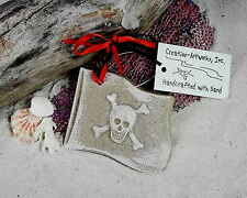 PIRATE FLAG WITH SCULL & CROSSBONES CHRISTMAS ORNAMENT