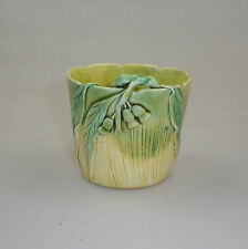 ERIC BRYCE CARTER POT WITH GUM LEAF AND GUM NUT DECORATION