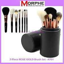 NEW Morphe Brushes 7-Piece ROSE GOLD Brush Set w/Cup Holder 701 FREE SHIPPING