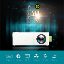 Mini Portable YG310 LED Projector Home Cinema Theater PC Laptop CVBS USB for TXT