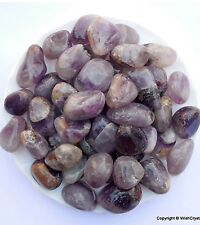 Natural Amethyst Tumble Stone For Reiki Healing Meditation UK