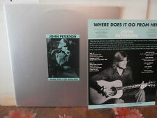 "john peterson""where does it go from here""lp12""de 1997+ insert.uk.psych/arch1005"
