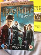HARRY POTTER AND THE HALF-BLOOD PRINCE 2  DISC DVD **WRAPPED & SEALED**