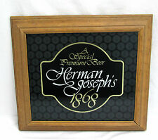 Herman Joseph's Special Premium Beer 1980 Adolph Coors Co Wall Hanging Bar Sign