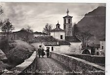# SETTIMO VITTONE: CHIESA MADONNA DELLE GRAZIE - PONTE SUL TORRENTE  1956