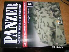 Fascicule PANZER n°6 Panzerjager Tiger Ausf.B 6.Panzer Division Afrique du Nord