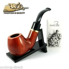 "OUTSTANDING Mr.Brog original smoking pipe nr. 60 teak "" GUARDIAN "" - 1st of Kind"
