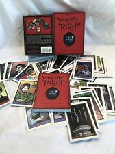 EXTREMELY RARE THE VAMPIRE TAROT BOOK & CARDS ROBERT M. PLACE First Edition 2009