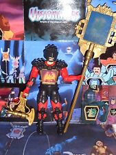VISIONARIES loose CRAVEX 100% COMPLETE working holos Darkling Lord HASBRO Fear