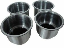 Amarine-made 4pcs Stainless Steel Cup Drink Holder with Drain Marine Boat Rv New