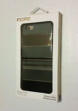 INCIPIO DESIGN SERIES Hard Shell Case for iPhone 6/6s Plus IPH-1387-BLK NEW NIB