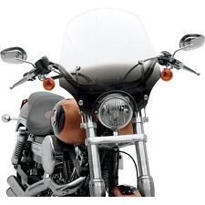 """Parabrezza El Paso Black Nero da 19""""- 48 cm per Harley Davidson HD Custom Bobber"""
