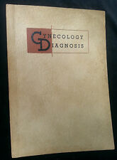 1938 Medical Booklet Gynecology Diagnosis Cole Chemical St Louis MO GYN Exam