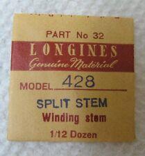 Longines Genuine Material Split Winding Stem 13 for Longines Model 428