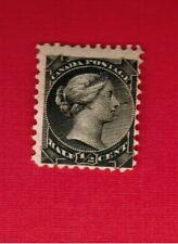 1882  #  34 ** FNH  TIMBRE  CANADA STAMP QUEEN VICTORIA  SMALL QUEEN