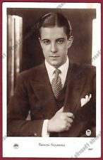 RAMON NOVARRO 41 ATTORE ACTOR CINEMA MUTO SILENT MOVIE Cartolina FOTOGRAFICA